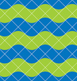 Retro tiles seamless pattern background vector image vector image