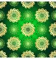 Vintage green seamless pattern vector image vector image