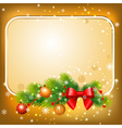 new year postcard vector image