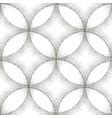 abstract dotted circle seamless pattern geometric vector image
