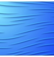 Abstract background with blue layers vector image