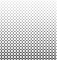 Black and white rhombus pattern background vector image vector image