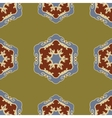 Ethnic seamless ornamental pattern boho vector image vector image
