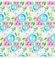 pattern bright colors simple on a white vector image vector image