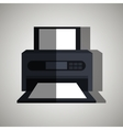 printer office design vector image