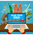 travel banner vacation planning technology