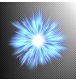 Blue color design with a burst EPS 10 vector image