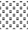 fast food pattern seamless vector image vector image