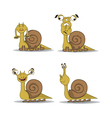 Good snail Monster Cartoon vector image vector image