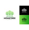 green wood resident logo template design template vector image