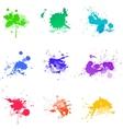 Paint splat ink vector image vector image
