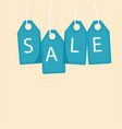 sale blue tag sale background image vector image vector image