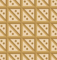 seamless pattern beige squares vector image vector image