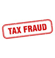 tax fraud vector image vector image