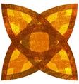Isolated Grunge Symbol vector image