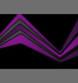 abstract black and violet corporate background vector image vector image