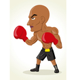 Boxer Cartoon vector image vector image