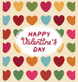 design concept for valentines day vector image vector image