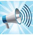 icon megaphone - communication concept vector image vector image