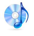 music CD 02 vector image vector image
