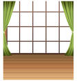 Window Interior Background vector image vector image