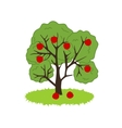 Apple Tree Icon vector image vector image