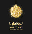 merry christmas and happy new year card with