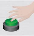 push launch button business motivation vector image