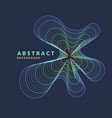 abstract geometric background with dynamic vector image