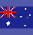 australia flag vector image