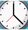 Clock icon object time concept design vector image