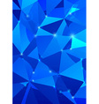 Crystal background - abstraction vector image vector image