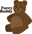 Furry Buddy vector image vector image