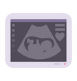 Obstetric ultrasound baby of fetus ecography scan