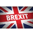 United Kingdom exit from europe relative image vector image vector image