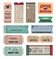 Vintage movie tickets vector | Price: 1 Credit (USD $1)