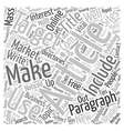 Vital Tips to Create Well Crafted Article text vector image vector image
