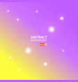 yellow purple abstract background vector image vector image