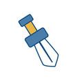 sword icon image vector image