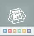 device levels icon vector image