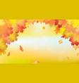 falling golden autumn maple leaves