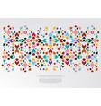 modern arabesque floral pattern colorful