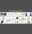 set of multi colour elements for multipurpose vector image