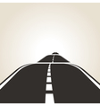 symbol of the road vector image