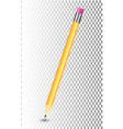 amazing isolated pencil on transparent background vector image