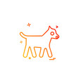 animals icon design vector image vector image