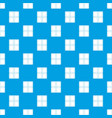 chocolate piece pattern seamless blue vector image vector image