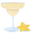 creamy cocktail vector image vector image