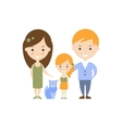 Family As Personal Happiness Idea vector image vector image