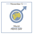 Men Day vector image vector image
